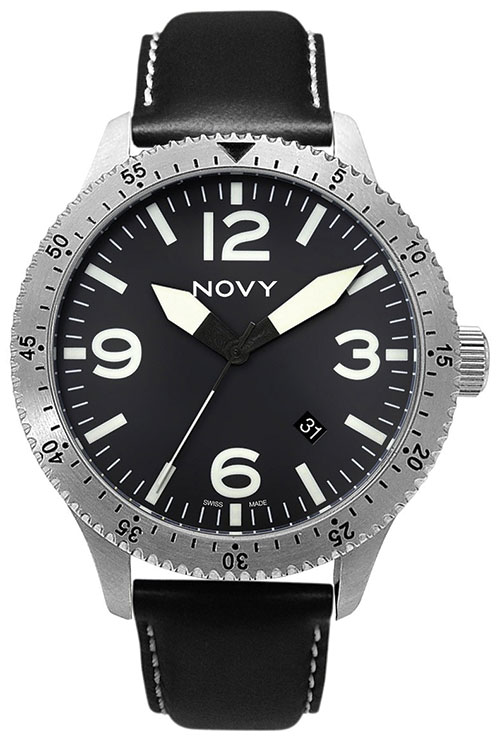 Novy–Swiss made Professional Pilot Watches CLASSIC NO 2 -C1