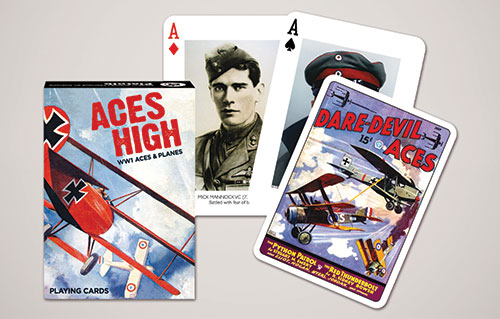 Aces High – Playing Cards - Gibsons