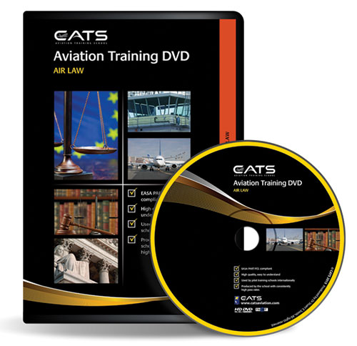 CATS Air Law Aviation Training DVD