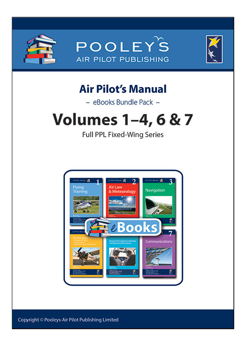 Air Pilot's Manual Volumes 1–4, 6 & 7 eBooks APM Pack for PPL (A)