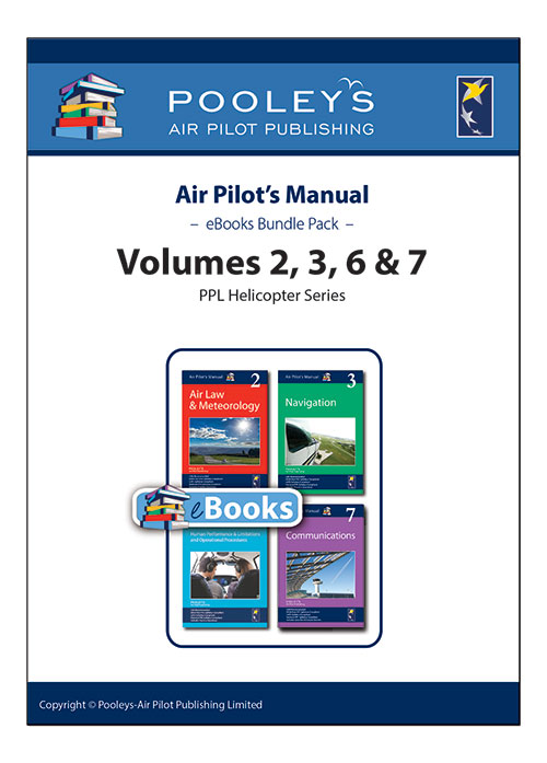 Air Pilot's Manual Volumes 2, 3, 6 & 7 eBooks APM Pack for PPL (H)Image Id:126045