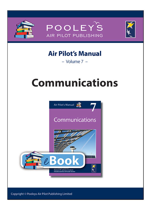 Air Pilot's Manual Volume 7 Communications – APM EASA eBookImage Id:126051