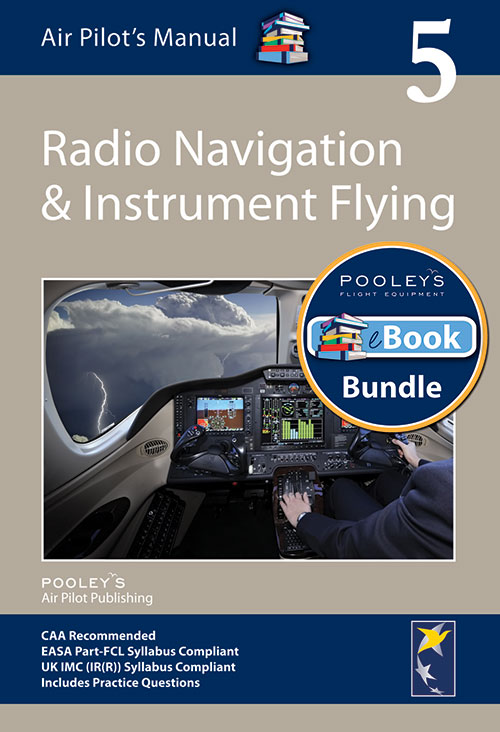 Air Pilot's Manual Volume 5 Radio Navigation & Instrument Flying – APM EASA Book & eBook Bundle