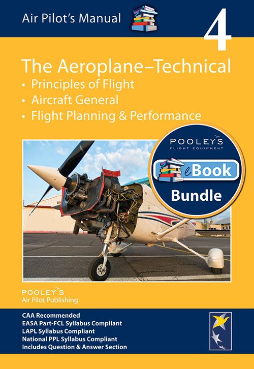 Air Pilot's Manual Volume 4 The Aeroplane Technical – Book & eBook Bundle