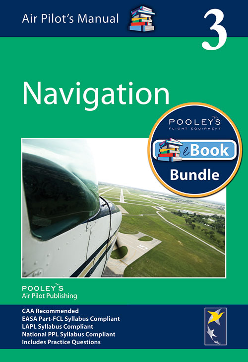 Air Pilot's Manual Volume 3 Air Navigation – APM EASA Book & eBook Bundle