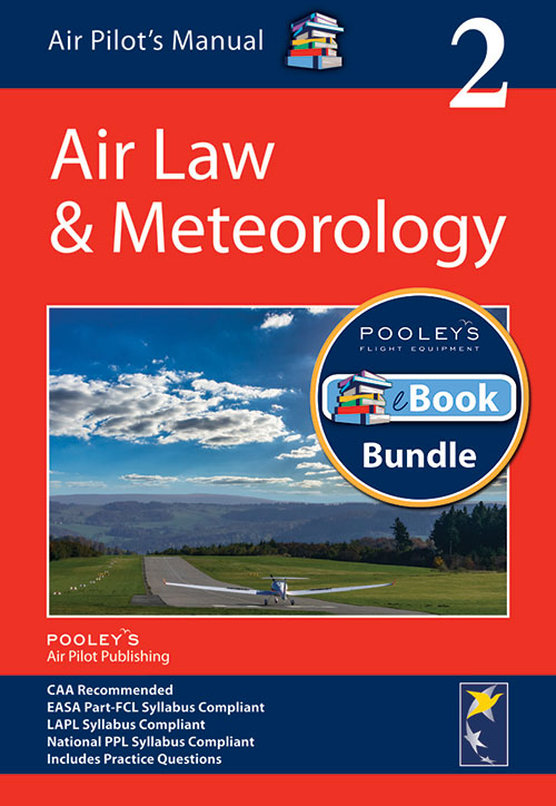 Air Pilot's Manual Volume 2 Aviation Law & Meteorology – Book & eBook Bundle
