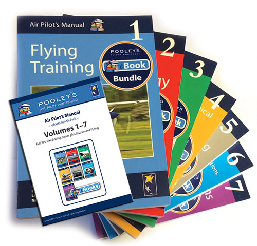 Air Pilot's Manual Volumes 1-7 Books & eBooks APM Bundle