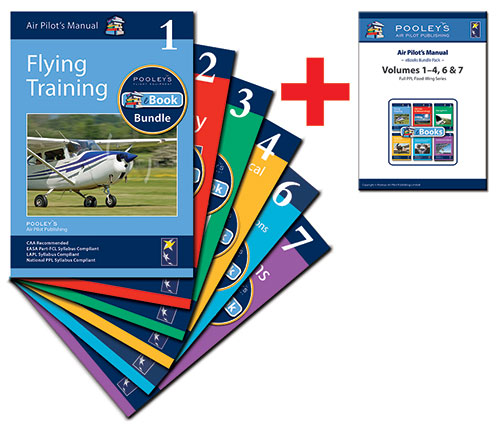 Air Pilot's Manual Volumes 1–4, 6 & 7 Books & eBooks APM Bundle for PPL (A)