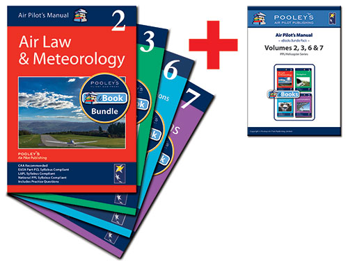 Air Pilot's Manual Volumes 2, 3, 6 & 7 Books & eBooks APM Bundle for PPL (H)