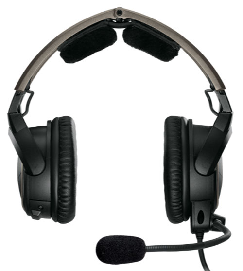 Bose A20 Helicopter Headset with U174 Plug, Non-Bluetooth, Coiled Cable, Hi Imp  (324843-R030)Image Id:126669