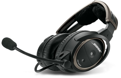 Bose A20 Helicopter Headset with U174 Plug, Non-Bluetooth, Coiled Cable, Hi Imp  (324843-R030)Image Id:126671