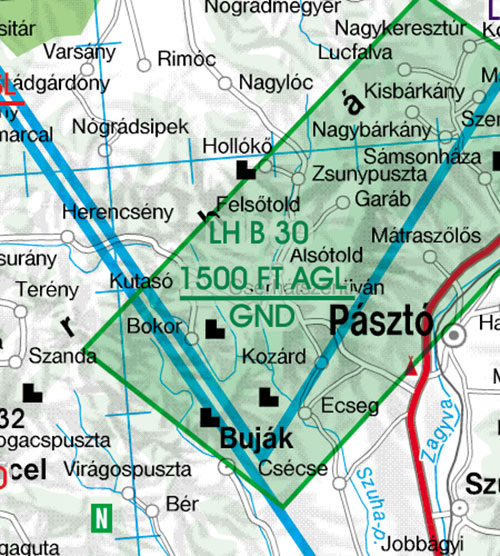 2020 Hungary VFR Chart 1:500 000 - RogersdataImage Id:126831