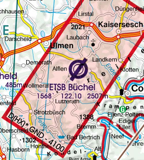 Charts germany ich554 germany north vfr chart 1500 000 ich554 germany north vfr chart 1500 000 rogersdata sciox Images