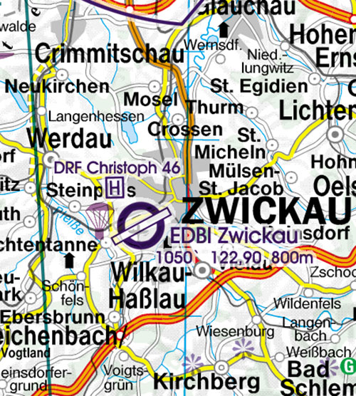 Charts germany ich555 germany south vfr chart 1500 000 ich555 germany south vfr chart 1500 000 rogersdata sciox Images