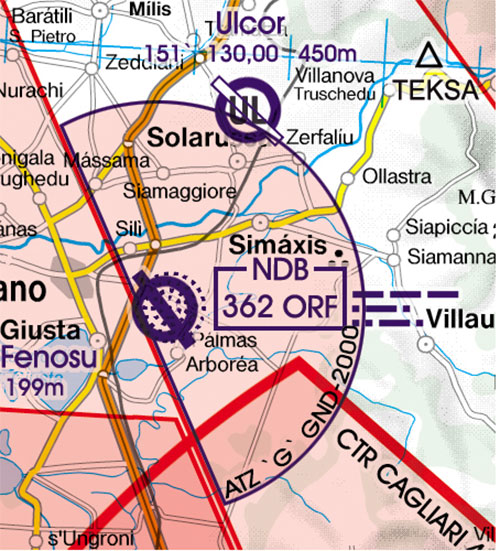 2020 Italy West VFR Chart 1:500 000 - RogersdataImage Id:127332