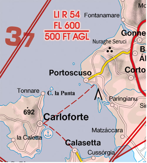 2020 Italy West VFR Chart 1:500 000 - RogersdataImage Id:127333