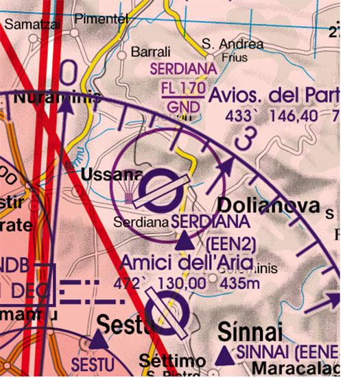 2020 Italy West VFR Chart 1:500 000 - RogersdataImage Id:127336