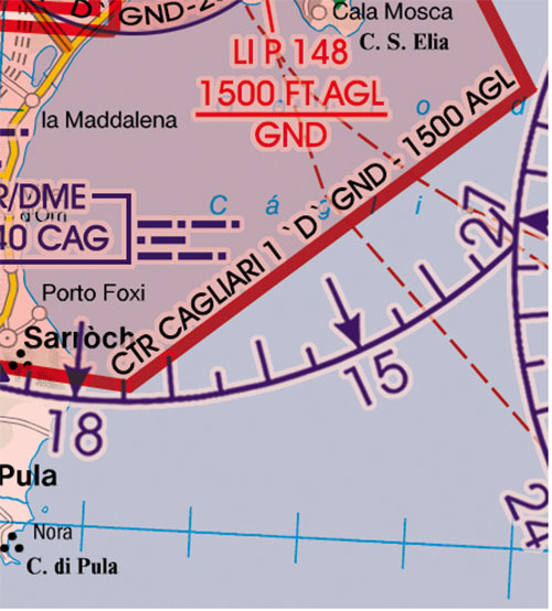 2020 Italy West VFR Chart 1:500 000 - RogersdataImage Id:127337