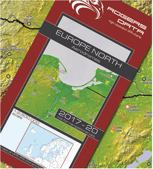 European Aerodromes North – Panorama Chart 1:2.500.000, 2017-2021