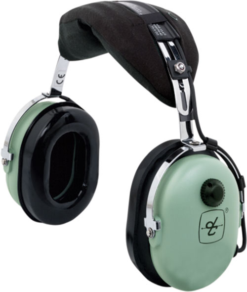 David Clark H10S/DC Listen Only Headset + FREE Headset Bag