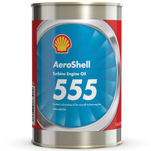 Aeroshell Turbine Oil 555 – Case 24 x 1 USQ (DEF STAN 91-100 OX-26)