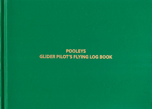 Pooley's Glider Log Book