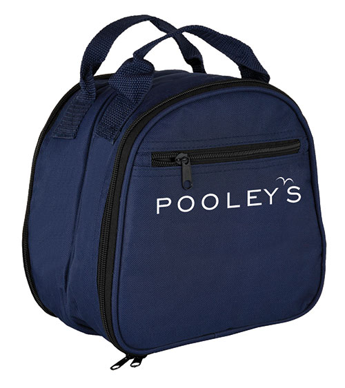 Double Headset Bag - Available in black or blue