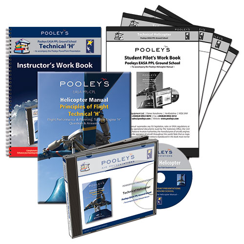 Pooleys Air Presentations – Technical 'H' PowerPoint Pack with Helicopter Manual