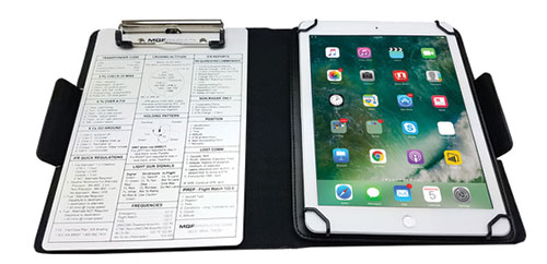 Universal full size folio C iPad holder / kneeboardImage Id:132124