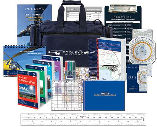11a4948ef40 student pilot starter kits psk standard heli – ppl helicopter pilots kit  flying an.