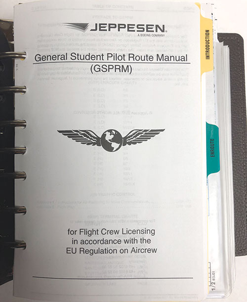 Jeppesen EASA-FCL General Student Pilot Route Manual GSPRMImage Id:133439