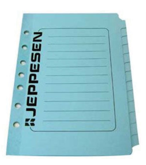 Multi tabs, all purpose tab set for Jeppesen Binders (set of 13)Image Id:133667