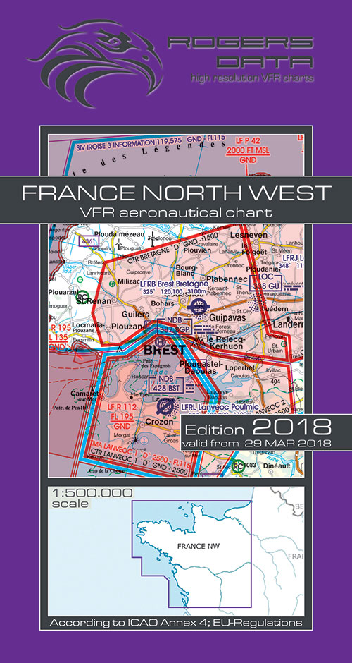 Charts ireland ich567 france north west vfr chart 1500 000 france north west vfr chart 1500 000 rogersdata rogersdata sciox Images