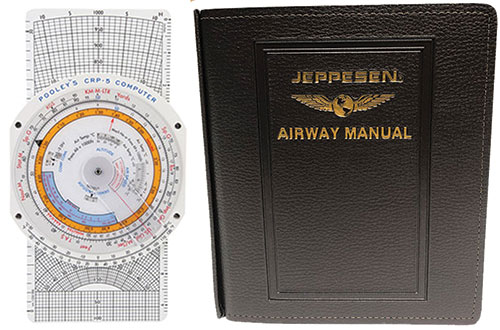 Combination CRP-5 and Jeppesen EASA-FCL General Student Pilot Route Manual GSTPRMImage Id:134818