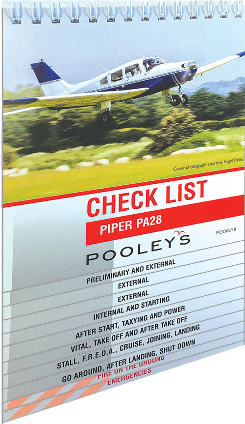 checklists piper pa28 ncl028 piper pa28 checklist pooleys
