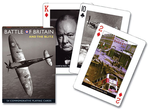 Battle of Britain and the Blitz  – Playing Cards