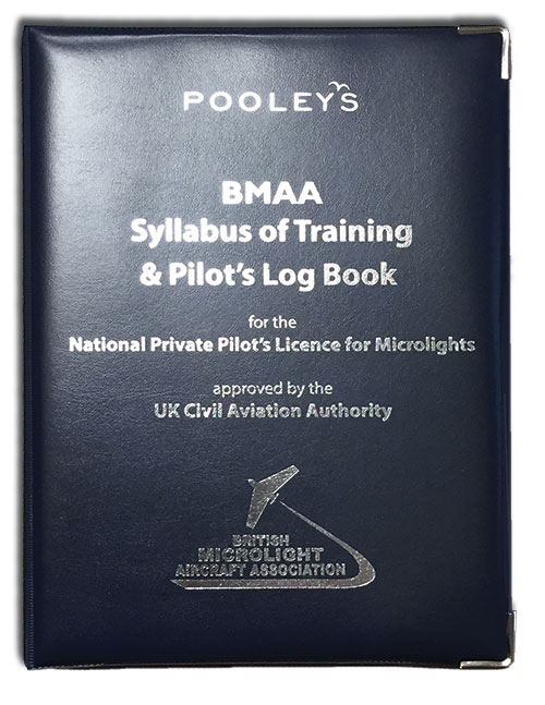 Syllabus of Training for the NPPL for Microlights + Microlight Log Book in BINDER - BMAAImage Id:140109