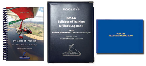 Syllabus of Training for the NPPL for Microlights + PPL Log Book in BINDER - BMAAImage Id:140111