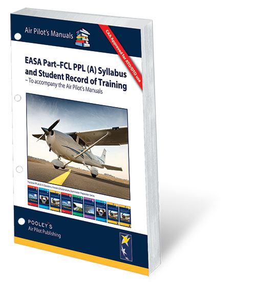 PPL (A) Syllabus and Student Record of Training – CAA & EASA Part-FCL Compliant