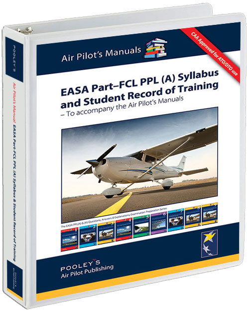 PPL (A) Syllabus and Student Record of Training - CAA EASA Part-FCL Compliant