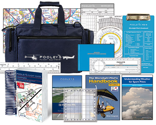 Microlight Pilot's Starter Kit  - Pooleys