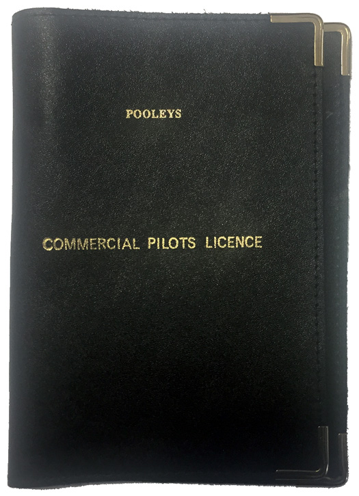 Pooleys Leather Licence Holder Cover - BlackImage Id:143278