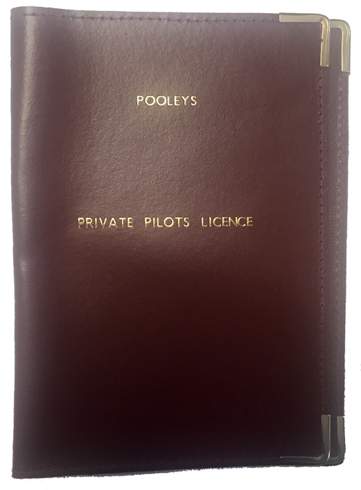Pooleys Leather Licence Holder Cover - BurgundyImage Id:143281
