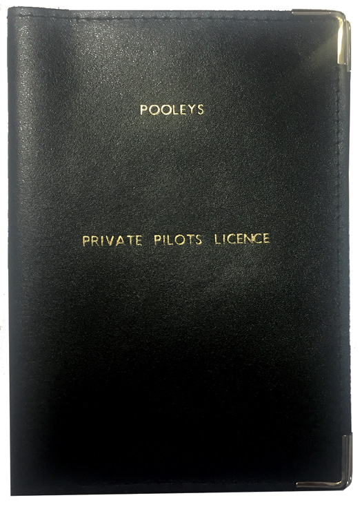 Pooleys Leather Licence Holder Cover - BlackImage Id:143282