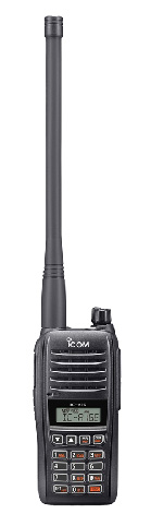 ICOM IC-A16E 8.33/25kHz Ground to Air Support Radio
