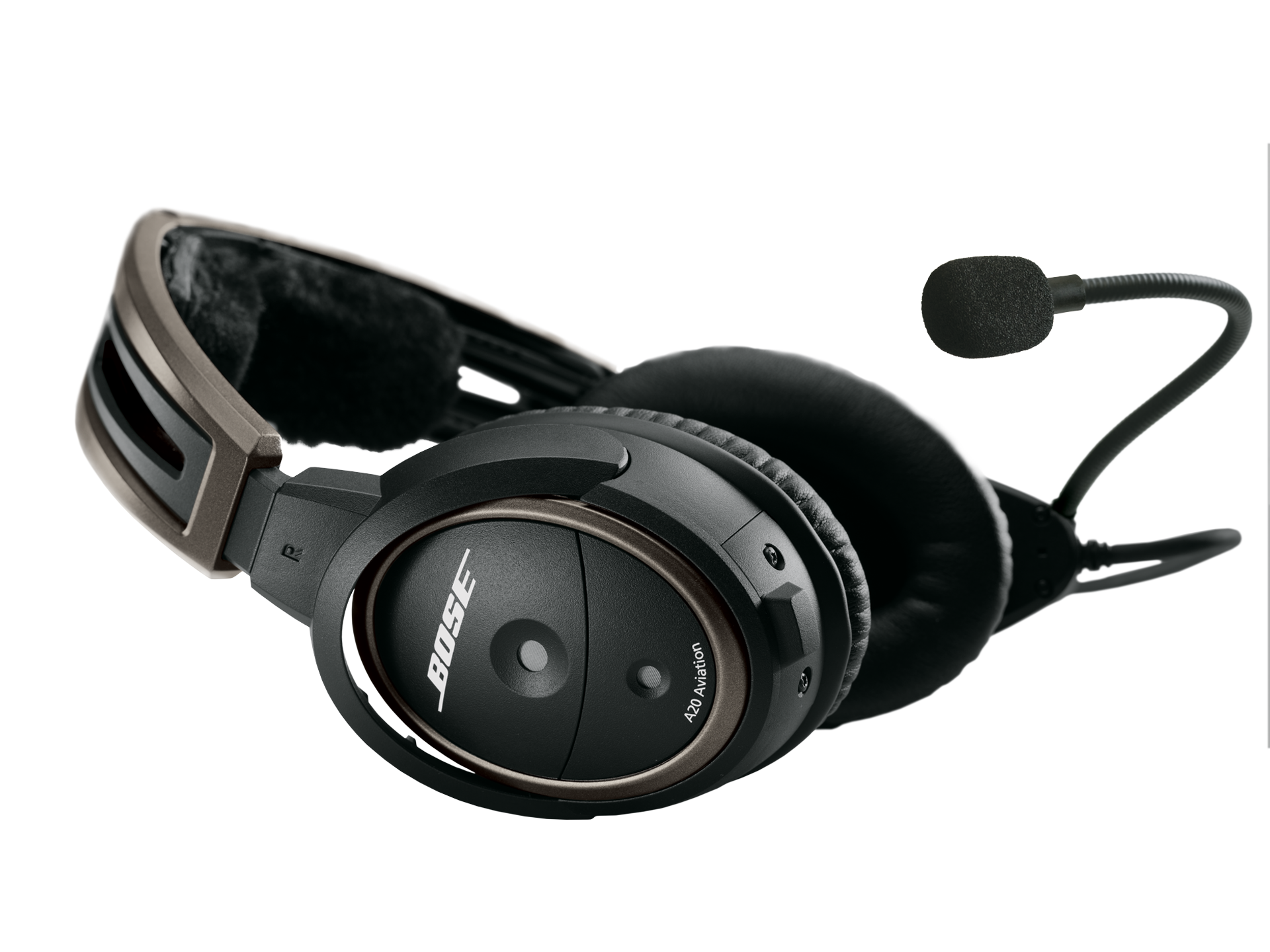 Bose A20 Headset with Fischer Plug, Bluetooth, Battery Powered, Straight Cable, Hi Imp (324843-3050)Image Id:144813