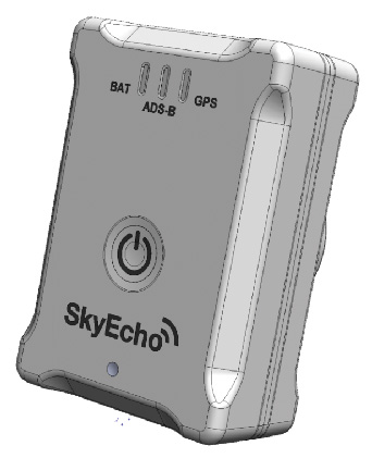 UAVIONIX SKYECHO II Portable ADS-B Transceiver (Mount, Cable & Case included)Image Id:146120