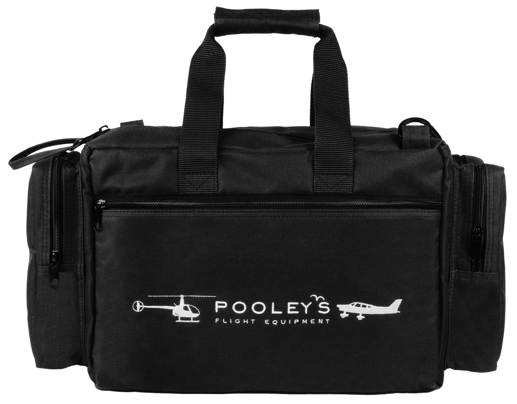 FC-8 Pooleys Pilot's Flight Bag (Navy Blue or Black)Image Id:146903