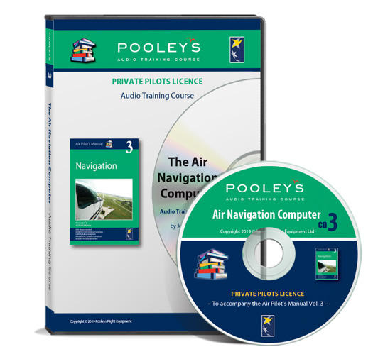 Private Pilot's Licence – No. 3 Air Navigation Computer Training CD - Pooleys