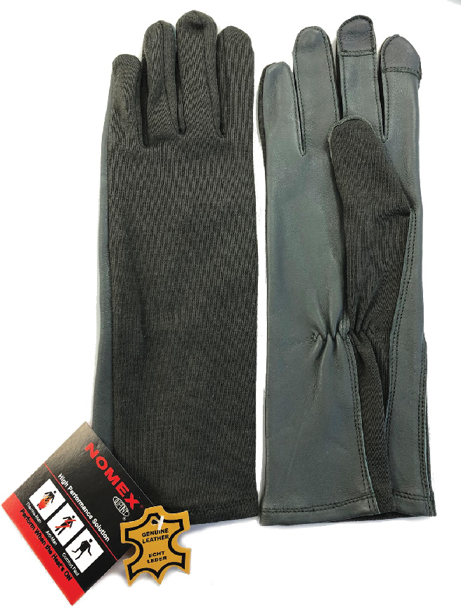 Touch Screen Compatible Nomex Flyer's Gloves